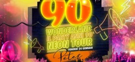 Al Peter Pan Riccione si balla con 90 Wonderland Party