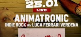 Gli animatronic animano il sabato rock del Bradipop