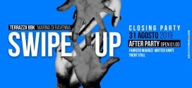 SWIPE UP – terrazza BBK – Closing Party