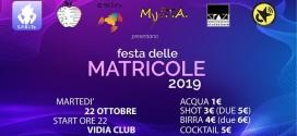 Festa delle Matricole 2019