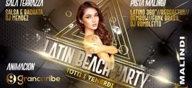 Al Malindi Cattolica arriva il Latin Beach Party