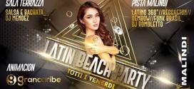Al Malindi Cattolica arriva il Latin Beach Party