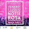 La Notte Rosa musicale del Fantini club di Cervia