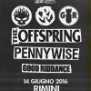 The Offspring, Pennywise e Good Riddance a Rimini Park Rock
