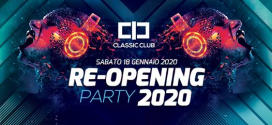 Re-Opening Party 2020 al Classic Club