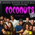 apertura invernale coconuts 2014