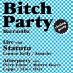 bitch party barrumba 14 settembre