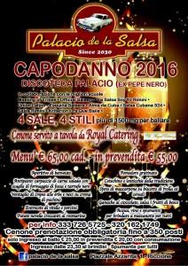 capodanno 2016 al palacio de la salsa
