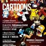 classic club cartoon party