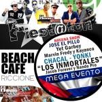 fiestaton cubano beach cafe riccione 2013