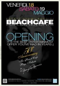 apertura beach cafe riccione 2012