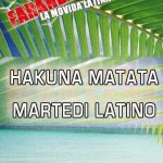 martedì latino hakuna matata riccione