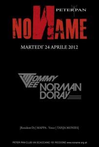 no name peter pan 2012