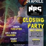 nrg event chiusura