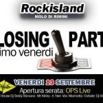chiusura venerdì rock island 2013