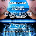 schiuma party aquafan 2014