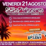 stile balneare party al bbk beach punta marina