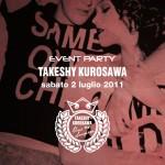 takeshi kurosawa party pineta milano marittima