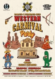 western-carnival-party al velvet rimini