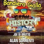 BANDIERA GIALLA rimini anni 80 Over30