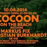 cocoon mojito beach riccione