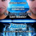 schiuma party aquafan 2014