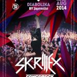 skrillex cocorico 2014